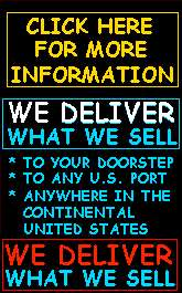 deliver to your doorstep, any port,             anywhere in United States