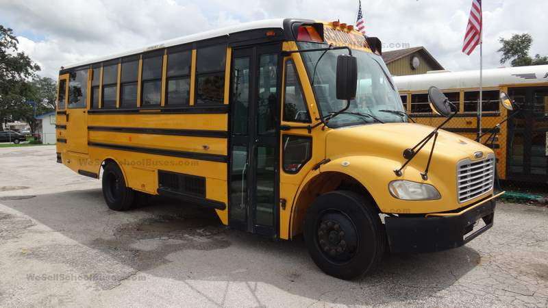 2008 Thomas C2 MBE906 Allison Automatic Air Brakes 8 row